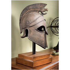 "25"" Museum Quality Medieval Greek Spartan Decorative Helment"