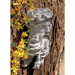 "17"" Classic Roman Greek Exotic Sea God Wall Sculpture Statue"