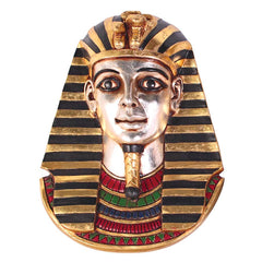 "12.5"" Classic Egyptian King Tut Tutankhamen Wall Sculpture Statue Decor"