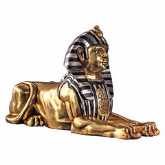 "29""w Ancient Egyptian Collectible Sphinx Statue Sculpture Figurine"