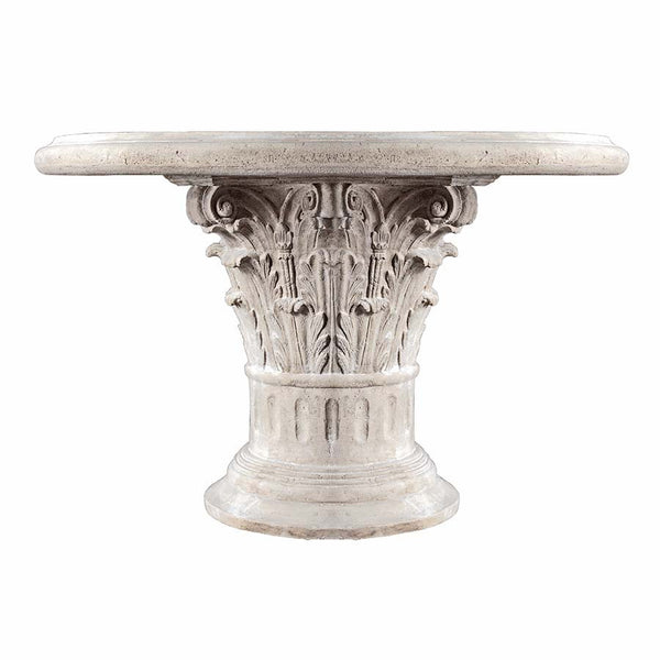 "32"" Ancient Rome Greek Architectural Sculptural Coffee Table"