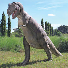 22ft Historic Grand Jurassic-sized T-rex Dinosaur Statue Sculpture Figurine