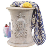 "33.5"" Luxury Classic French Spa Pool Shower Bath Stool"