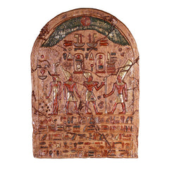 "46"" Classic Egyptian Collectible Luxury Ceremonial Wall Sculpture Tablet Plaque"
