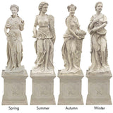 Mesmerizingly Goddesses of the Seasons Statue: All Four Seasons