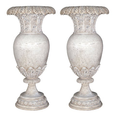 "25½""H Artistic Oviform Urn: Set of two"