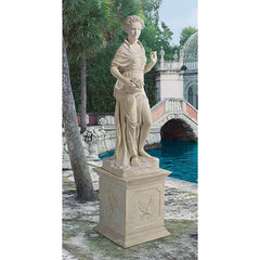 FOUR SEASONS SPRING STATUE WITH PLINTH