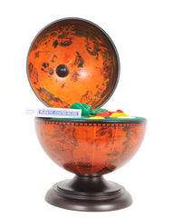 XoticBrands Decor Globe Poker Set