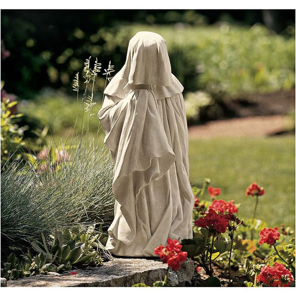 "24"" Classic 15th Century French Mourner Home Garden Pleurant Sculpture Statue"