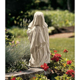 "10"" Classic 15th Century French Mourner Home Garden Pleurant Sculpture Statue"