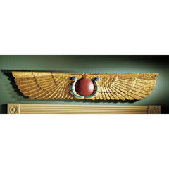 Egyptian Temple Sculptural Wall Pediment