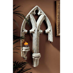 "30"" Classic Medieval Gothic Frankenberg Palace Architectural Wall Sculpture S..."