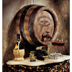 FRENCH WINE BARREL FRIEZE
