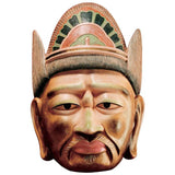 "12"" Japanese Kyoto National Museum Guardians of Buddhism Processional Masks o..."
