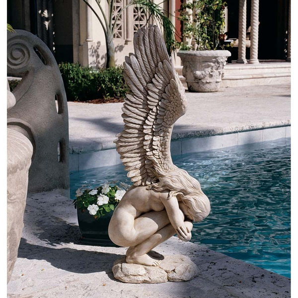 "31"" Large Angel Wings Sculpture Statue (Xoticbrands)"