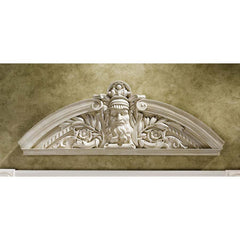 "11"" Greek Prometheus Mythology Sculpture Wall Door Pediment"