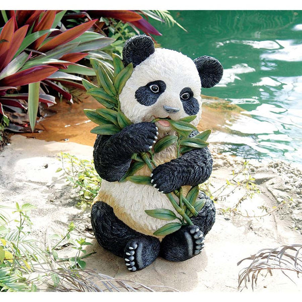 "20"" Chinese Panda Home Garden Pool Gallery Sculpture Statue (Xoticbrands)"