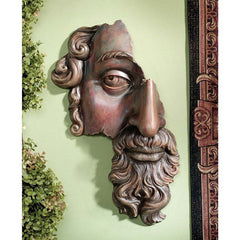 17th Century French Classical Fragment Wall Sculpture Statue Decor