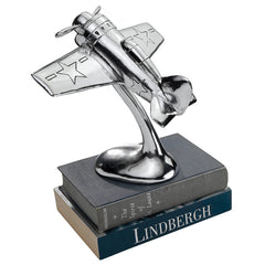 WWII F8F Bearcat Executive Model Airplane Statue
