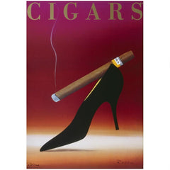 Cohiba Cigar French Art Poster