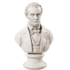 "18"" American President Abraham Lincoln Statue Sculpture Bust"