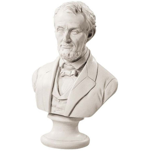 "12"" American President Abraham Lincoln Desktop Tabletop Statue Bust"