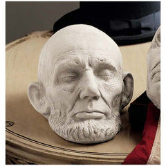 American President Abraham Lincoln Life Mask