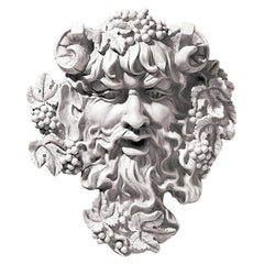 "10"" Antique Replica Woods Wine God Bacchus Home Gallery Wall Sculpture (Xoticbrands)"