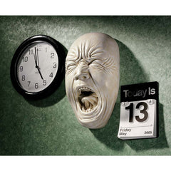 "9.5"" Screaming Human Face Wall Sculpture Statue Figurine"