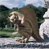 "10"" Winged Joker Gargoyle Home Garden Sculpture Statue Figurine"