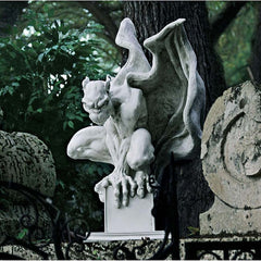 "10"" Gothic Winged Mystical Gargoyle Statue Sculpture Figurine"
