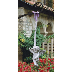 "26.5"" Baby Angel Play Hanging Sculpture Statue Figurine"