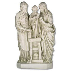 "25"" La Famiglia Santa Religious Statue (The Holy Family) Sculpture [Kitchen]"