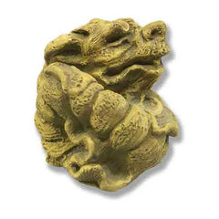 Coiled Dragon Gargoyle Sculpture
