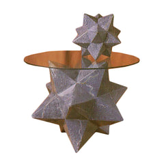 Zinc Star Table Base 18 H -  Display Display