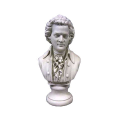 Mozart Bust Small 12H -  Composers Busts