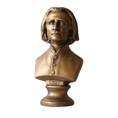 Liszt Bust Small 11 H -  Composers Busts
