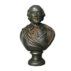 Shakespeare 12 -  Writers & Poets Busts