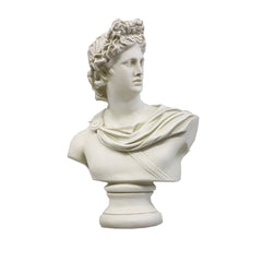 Apollo Bust Small 14 H -  Greek & Roman Busts