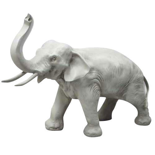 Charging Elephant 12 Garden Animal Statue - xoticbrands