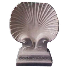 Shell Table Base Garden Animal Statue