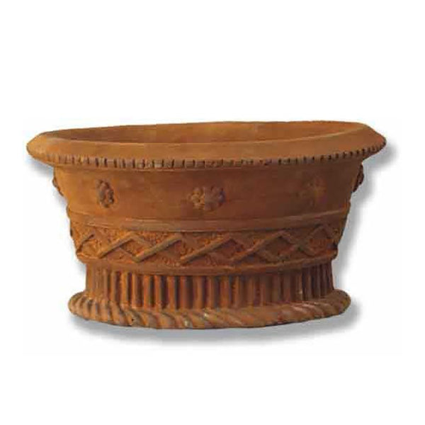 "Oval Basket 9.5"" H (R) Garden Planter"