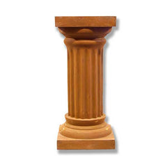 Fluted Column 28 H (R) Garden Planter