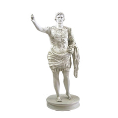 Augustus Caesar Of Primaporta Classical Sculpture