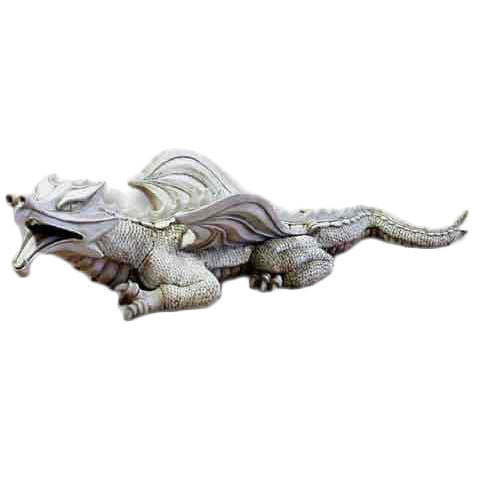 Warsin Dragon Colossal 52 W Garden Animal Statue