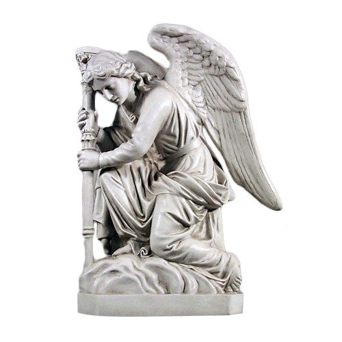 Bergama Angel- Right Garden Angel Statue