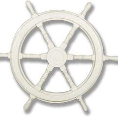 "Ship Wheel 16""H -  Display Display"