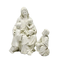 XoticBrands Jesus With Children 34 - Religious   Jesus