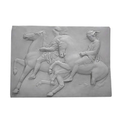 Two Horsemen, One With Hat -  Greek & Roman Classical  Sculpture