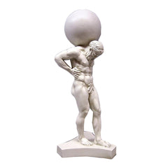 Atlas Holding Sphere -  Greek & Roman Classical  Sculpture